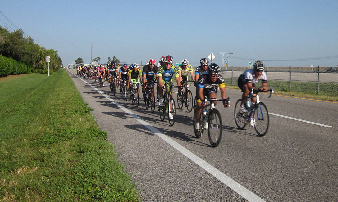How to ride the paceline